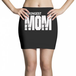 strongest mum Mini Skirts | Artistshot