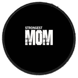 Strongest Mum Round Patch Designed By Hassan Agwa