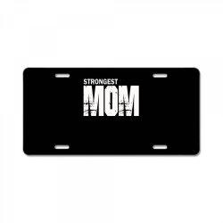 strongest mum License Plate   Artistshot