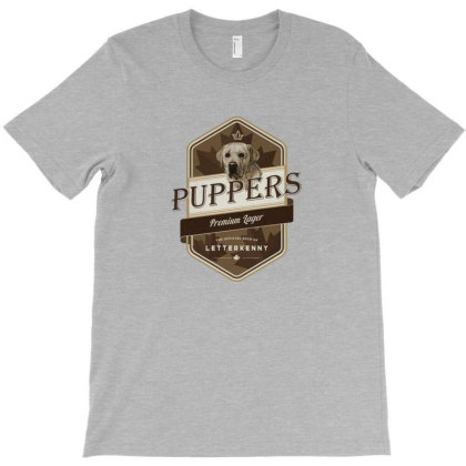 Letterkenny Puppers T-shirt Designed By Ngregs