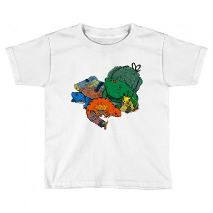 Backyard Pocket Monsters Toddler T-shirt Designed By Iamar25