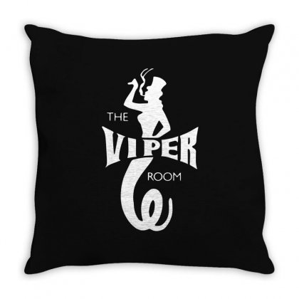 The Viper Room Throw Pillow Designed By Mdk Art