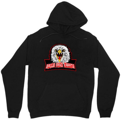 Eagle Fang Karate Unisex Hoodie Designed By Uptosign