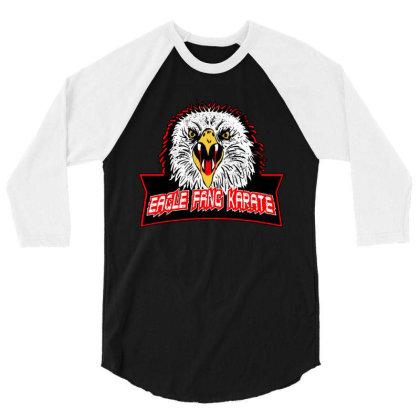 Eagle Fang Karate 3/4 Sleeve Shirt Designed By Uptosign