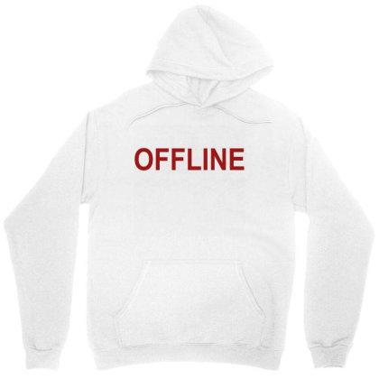 Offline Unisex Hoodie Designed By Megaagustina