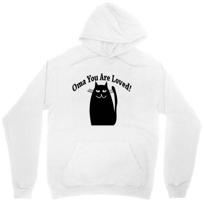 Oma You Are Loved! Unisex Hoodie Designed By Megaagustina