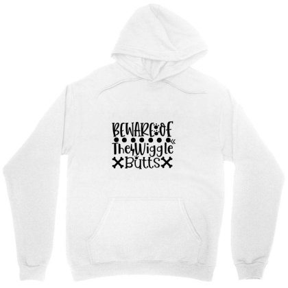 Beware Of The Wiggle Butts 01 Unisex Hoodie Designed By Kahvel