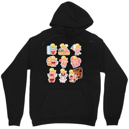 Colored Amur Unisex Hoodie Designed By Chiks