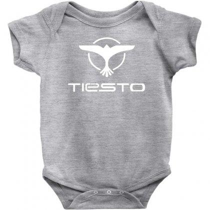 Tiesto Bird Logo Baby Bodysuit Designed By Mdk Art
