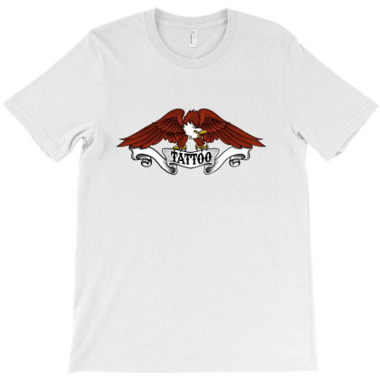 Eagle Tattoo T-shirt Designed By Andytattoo