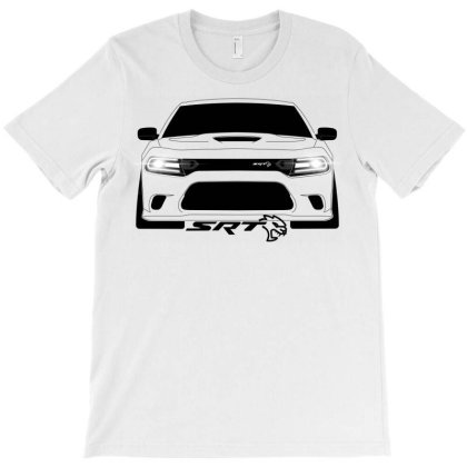 Charger Srt Hellcat T-shirt Designed By Gallego83