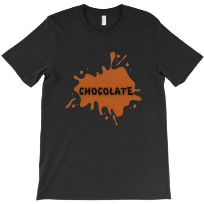 Chocolate T-shirt Designed By Grans
