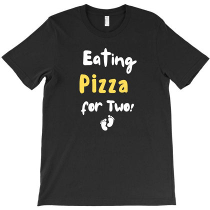 Eating Pizza For Two T-shirt Designed By Cloudystars