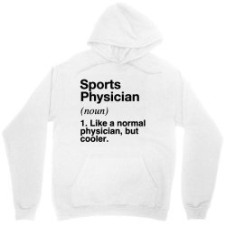 sports physician defined   funny definition Unisex Hoodie   Artistshot