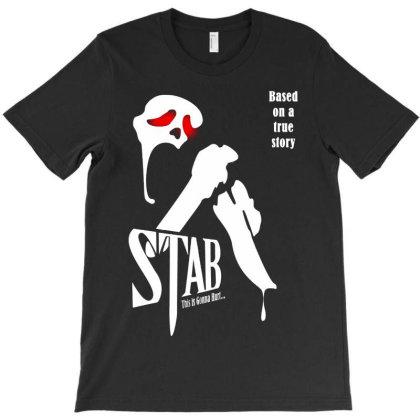 Stab  The Scream Movie T-shirt Designed By Vanessa Tees