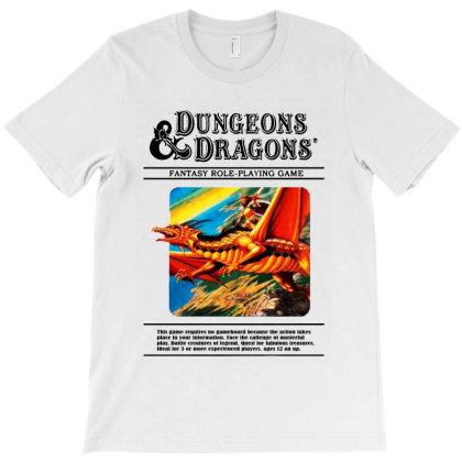 D&d T-shirt Designed By Woko Art
