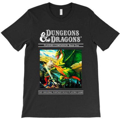 Dungeons & Dragons Retro T-shirt Designed By Woko Art