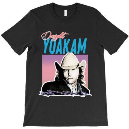 Dwight Yoakam 80s T-shirt Designed By Woko Art