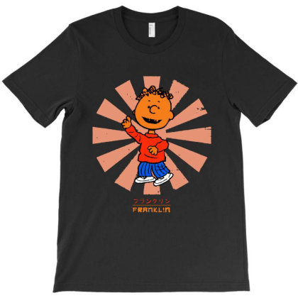 Franklin Retro T-shirt Designed By Woko Art