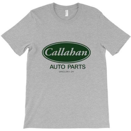 Callahan Auto Parts T-shirt Designed By Frensae