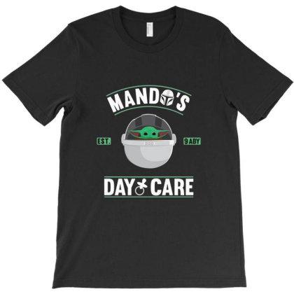 Mando's Day Care T-shirt Designed By Frensae
