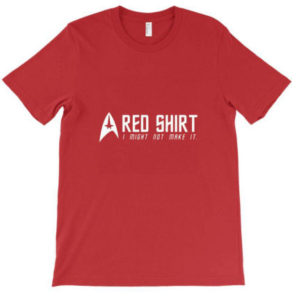 Red Shirt T-shirt Designed By Frensae