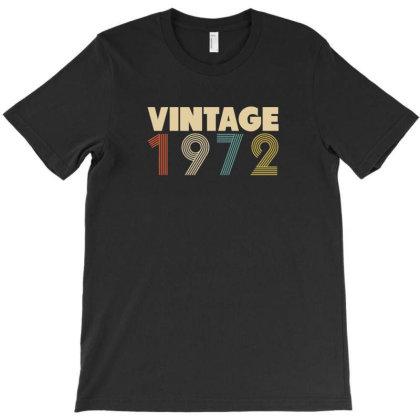 Vintage 1972 T-shirt Designed By Parody Quote Design