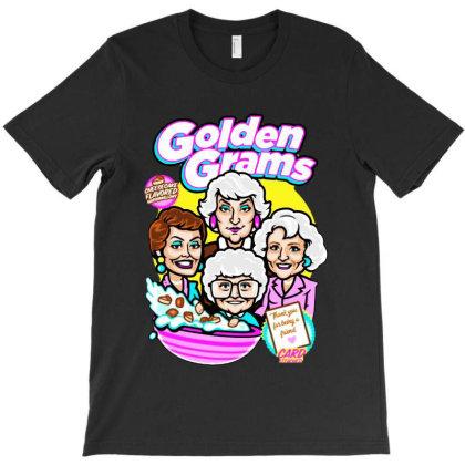 Girls Golden Gram T-shirt Designed By Woko Art