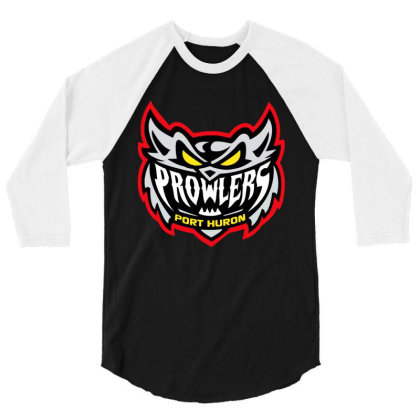 Port Huron Prowlers 3/4 Sleeve Shirt Designed By Vanessa Tees