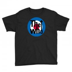 uomo the who rock band logo musica Youth Tee | Artistshot