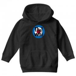 uomo the who rock band logo musica Youth Hoodie | Artistshot