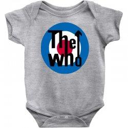 uomo the who rock band logo musica Baby Bodysuit | Artistshot