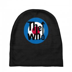 uomo the who rock band logo musica Baby Beanies | Artistshot
