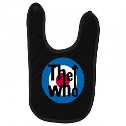 uomo the who rock band logo musica Baby Bibs | Artistshot