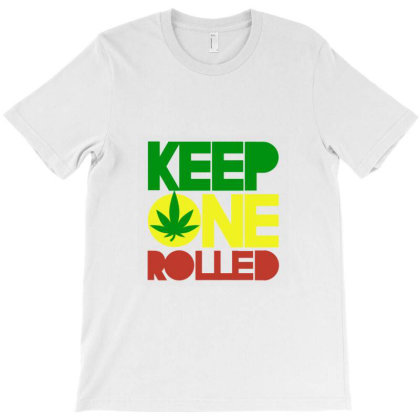 Cocaine Keep One Rolled T-shirt Designed By Mastitees.com