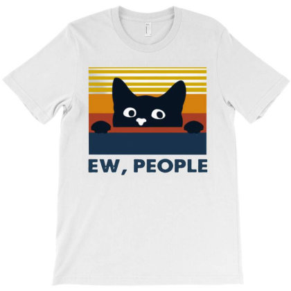 Cat Ew People Vintage T-shirt Designed By Aleyza Bnp