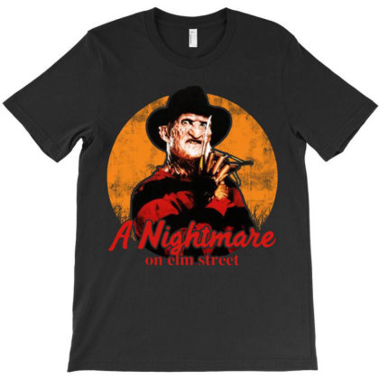Vintage A Nightmare On Elm Street T-shirt Designed By Aleyza Bnp