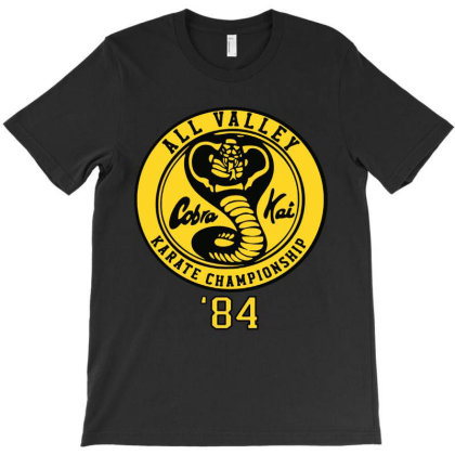 Cobra Kai All Valley T-shirt Designed By Aleyza Bnp