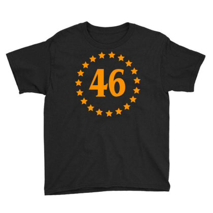 Biden 46 Youth Tee Designed By Dhigraphictees