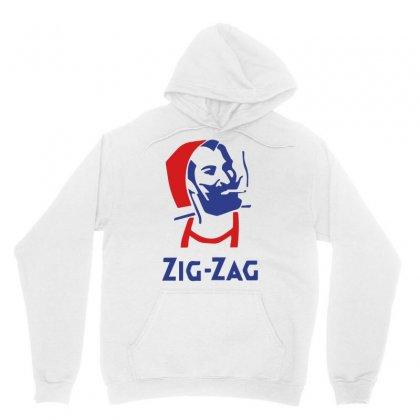 Vintage Zig Zag Man Logo Unisex Hoodie