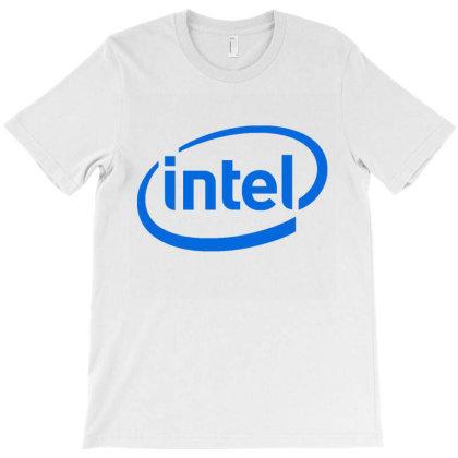 Intel T-shirt Designed By Iwan12