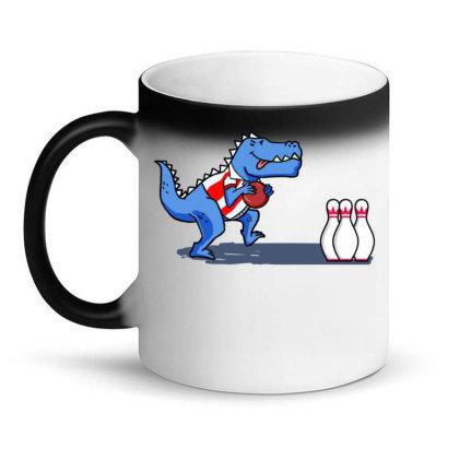 Bowling Dinosaur For Bowling Player Magic Mug Designed By Ngiart