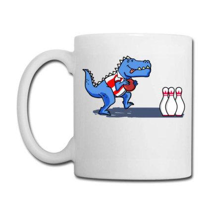 Bowling Dinosaur For Bowling Player Coffee Mug Designed By Ngiart