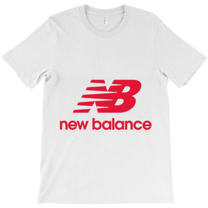 New Balance Red T-shirt Designed By Iwan12