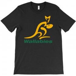 wallabies gold logo T-Shirt   Artistshot