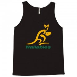 wallabies gold logo Tank Top   Artistshot