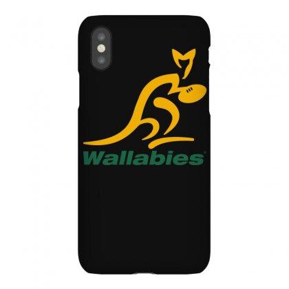 Wallabies Gold Logo Iphonex Case Designed By Mdk Art