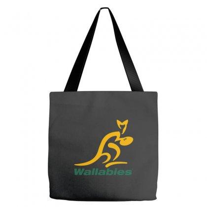 Wallabies Gold Logo Tote Bags Designed By Mdk Art