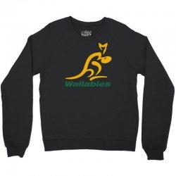 wallabies gold logo Crewneck Sweatshirt   Artistshot