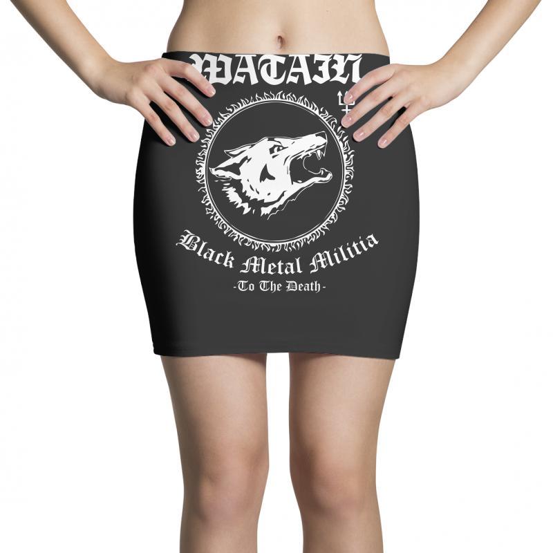 Watain skirt hand painted  leather skirt Black Metal Militia Shining Mgla Mork Taake Dark Funeral Satyricon Batushka Plaga Behemoth